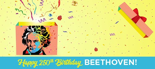 Beethoven 250th Birthday Banner